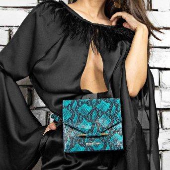Maestoso-Turquoise-Snake-Waist-Bag-2