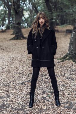 black-textured-kimono-style-medium-coat